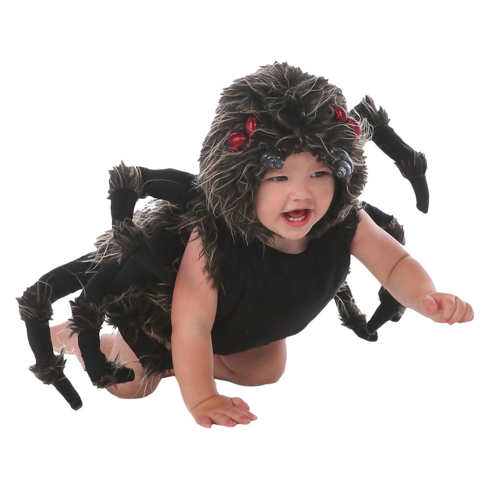 Image of Halloween Toddler Tarantula Talan Costume 6-12m, Adult Unisex, MultiColored