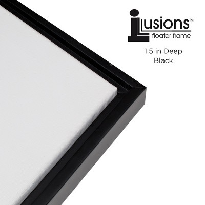 "Illusions Frames - 1.5"" Depth - Black"