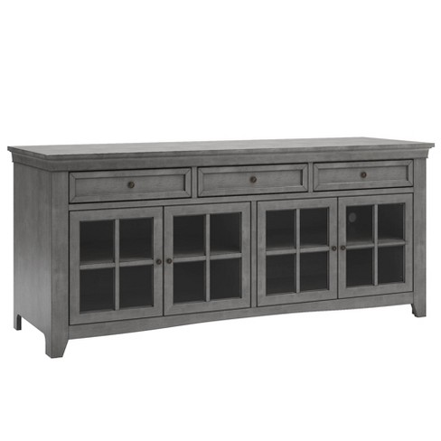 Martha 3 Drawer TV Stand Console Table - Inspire Q - image 1 of 4