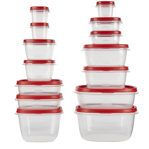 Rubbermaid 28pc Easy Find Lids Food Storage and Organization Containers
