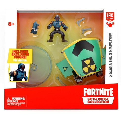 Fortnite Epic Games Battle Royale Collection Meltdown and The Visitor 2-Inch Vehicle and Mini Figure - image 1 of 4