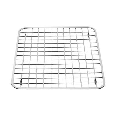 InterDesign Gia Stainless Steel Sink Grid Large Polished Chrome