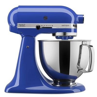 KitchenAid Artisan Series 5 Quart Tilt-Head Stand Mixer- Ksm150 Dark Blue