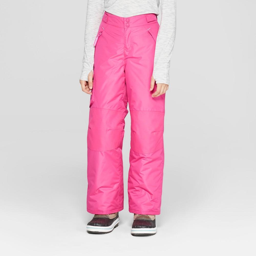 Girls' Snow Pants - C9 Champion Pink XS