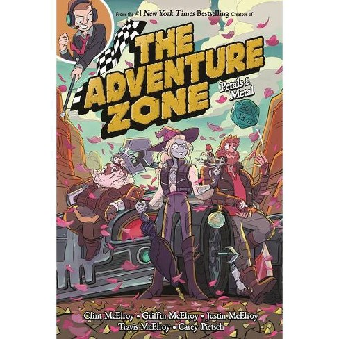 The Adventure Zone: Petals to the Metal - (Adventure Zone, 3) (Paperback) - image 1 of 1