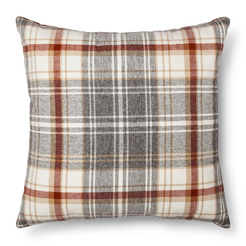 Throw Pillow Plaid Oversized - Threshold™ - image 1 of 2