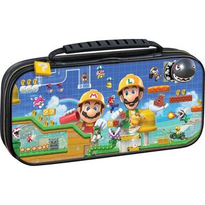 Nintendo Switch Game Traveler Deluxe Travel Case: Super Mario Maker 2