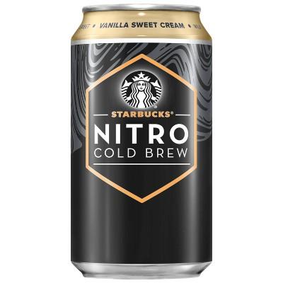 Starbucks Nitro Cold Brew Vanilla Sweet Cream Premium Coffee Drink - 9.6 fl oz Bottle