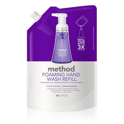 Method French Lavender Foaming Hand Soap Refill - 28 fl oz