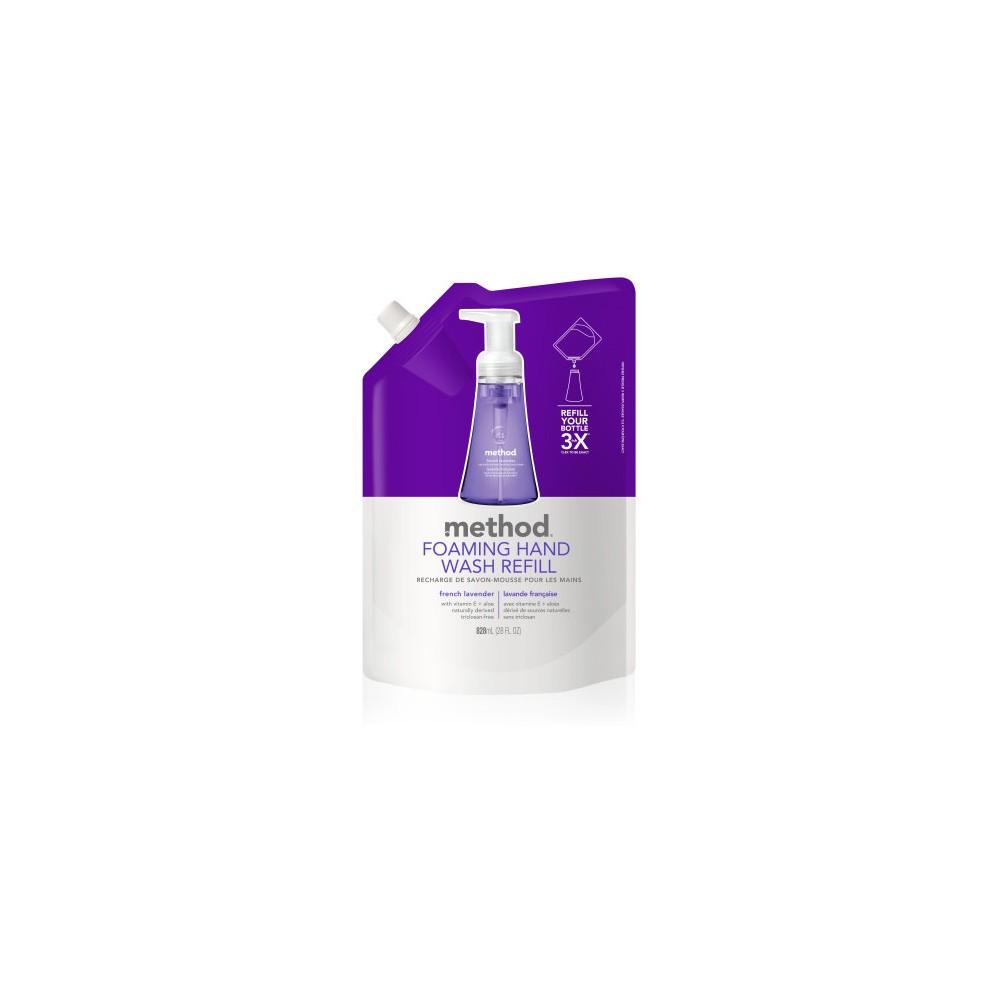 Method French Lavender Foaming Hand Wash Refill - 28 fl oz