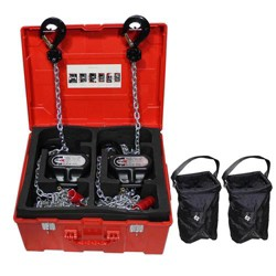ProX XT-MCH1TX2-30FT 1T Manual Chain Stage Hoist with 30' Chain, 2-Pack