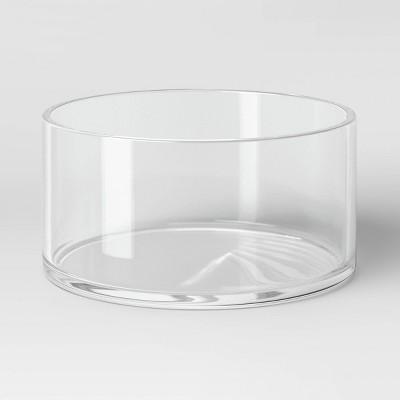 """3.5"""" x 8"""" Glass Vase - Threshold™"""