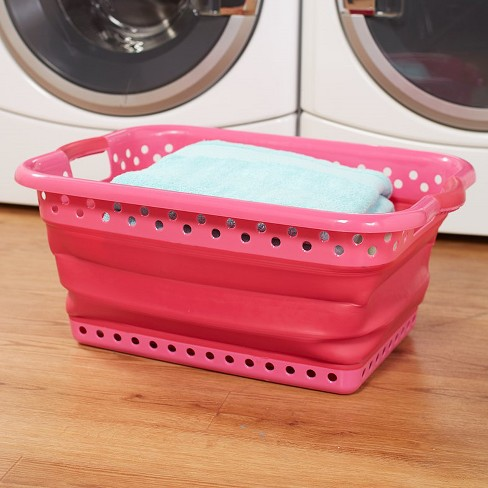 Lakeside Easy to Store Large Plastic Collapsible Laundry Basket - image 1 of 1