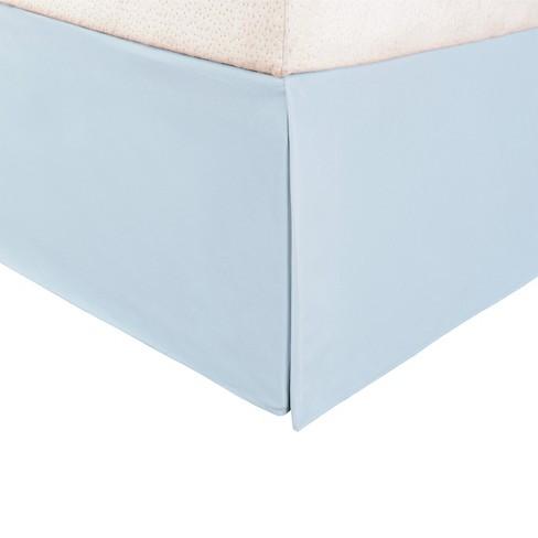 Wrinkle Resistant Microfiber Bed Skirt, Queen Size Bed Skirt 15 Drop