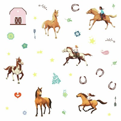 Spirit Riding Free Peel and Stick Wall Decals - RoomMates