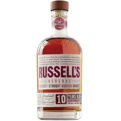 Russell's Reserve 10yr Bourbon Whiskey - 750ml Bottle