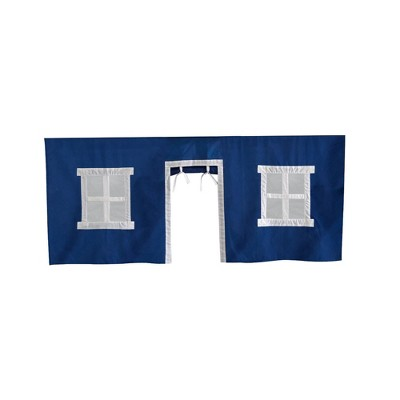 Max & Lily Cotton Underbed Curtain Square