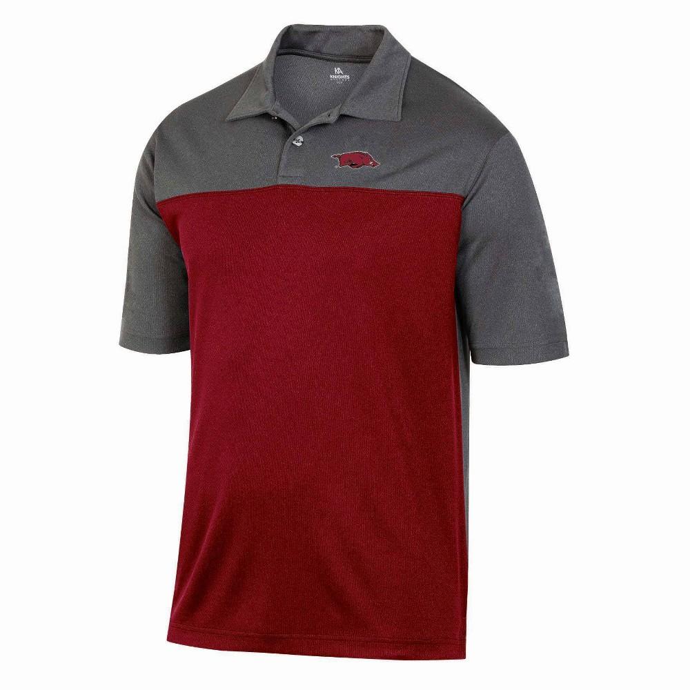 Ncaa Arkansas Razorbacks Men 39 S Short Sleeve Polo Shirt M