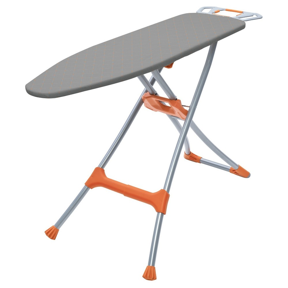 Image of Homz - Durabilt Deluxe Ironing Board - Gray