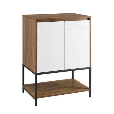 "24"" 2 Door Accent Cabinet With Lower Shelf - Saracina Home : Target"