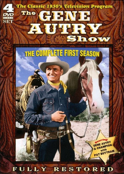 Gene autry show:Complete first season (DVD) - image 1 of 1