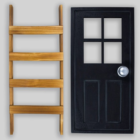 2pc Door & Ladder Decor - Bullseye's Playground™ - image 1 of 3