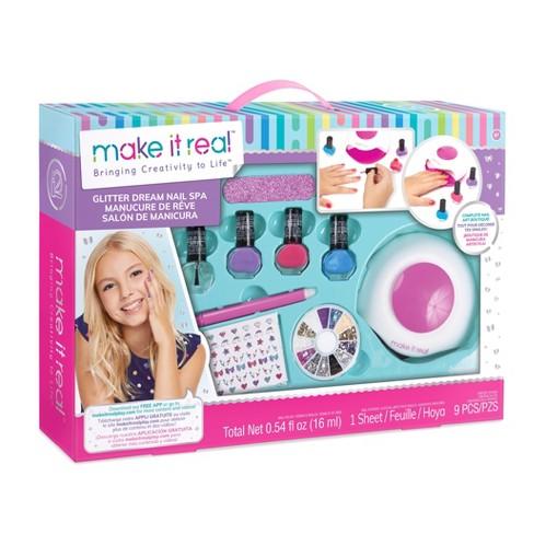 Make It Real Glitter Dream Nail Spa - image 1 of 5