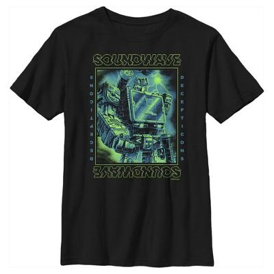 Boy's Transformers Soundwave Lightning Waves T-Shirt