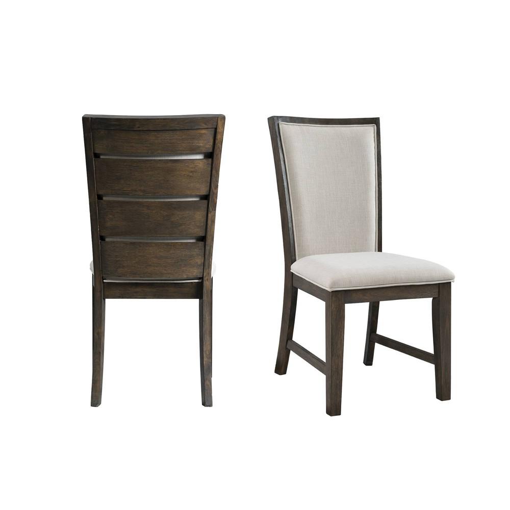 Jasper Slat Back Side Chair Set Toasted Walnut - Picket House Furnishings