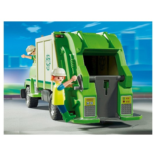 Playmobil Green Recycle Truck image number null