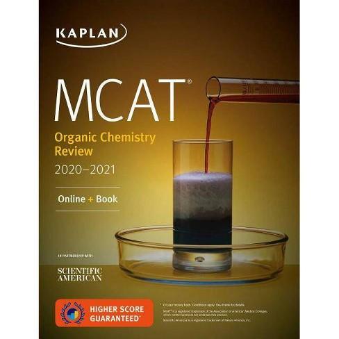 MCAT Organic Chemistry Review 2020-2021 - (Kaplan Test Prep) (Paperback)