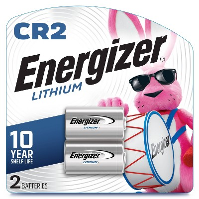 Energizer 2pk CR2 Batteries Lithium Photo Battery