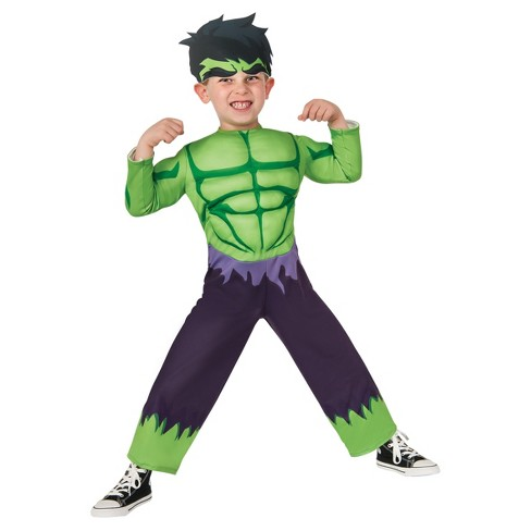 Toddler Kids' Marvel Hulk Costume - image 1 of 1