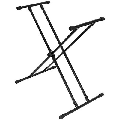 On-Stage Double-X Bullet Nose Keyboard Stand Wth Lok-Tight Construction