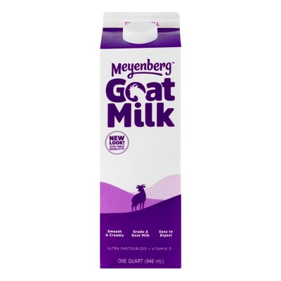 Meyenberg Ultra Pasteurized Goat Milk - 1qt