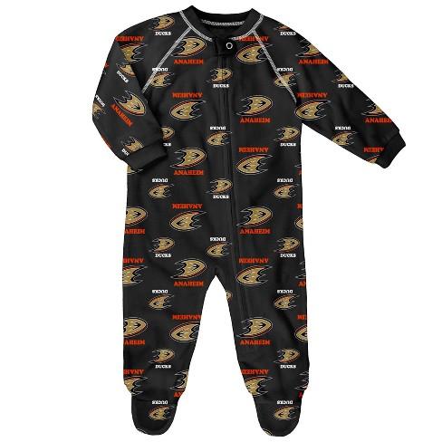 release date: 26e95 75af3 Anaheim Ducks Newborn/ Infant Sleeper 0-3M