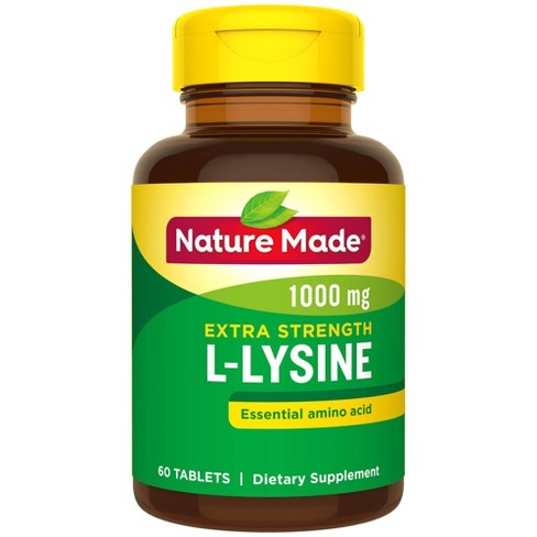 Nature Made L-Lysine Dietary SupplementTablets - 60ct