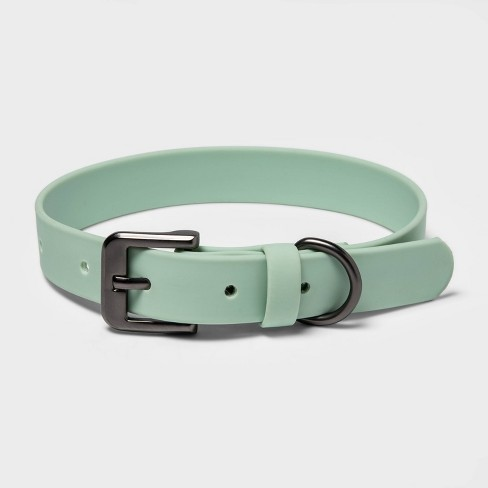 PVC/Silicone Dog Collar - Mint - Boots & Barkley™ - image 1 of 2