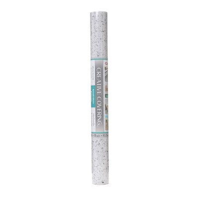 "Con-Tact 18""x20' Adhesive Petite Terazzo Gray"