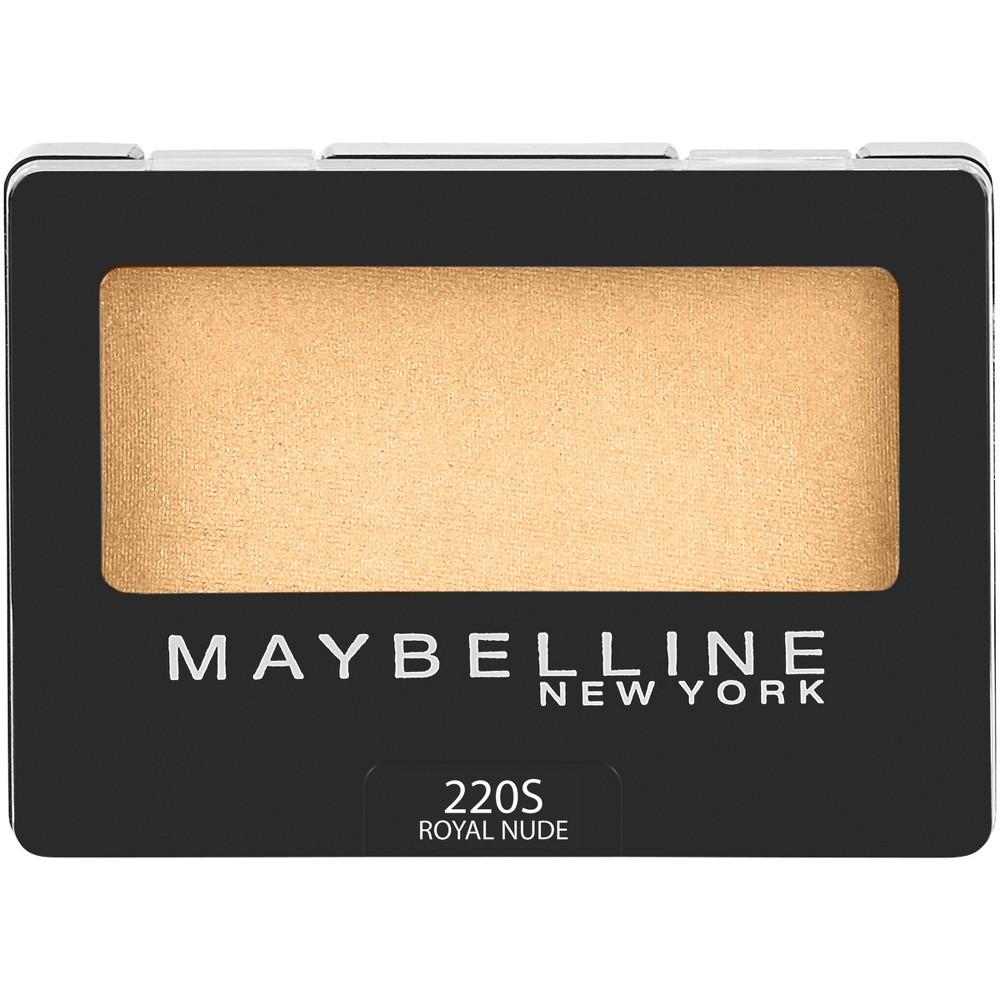 Maybelline Expert Wear Eyeshadow 220S Royal Nude - 0.08oz, 10s Soft Pearl