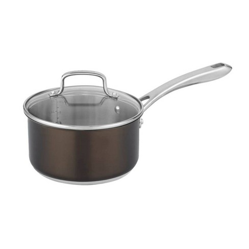 Cuisinart In the Mix 2.5qt Stainless Steel Redefine Cooking Saucepan with Cover - 85C1925-18 - image 1 of 4