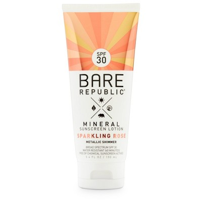 Sunscreen & Tanning: Bare Republic Shimmer