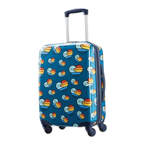"""American Tourister + Life is Good 20"""" Carry On Spinner Suitcase - image 1 of 4"""