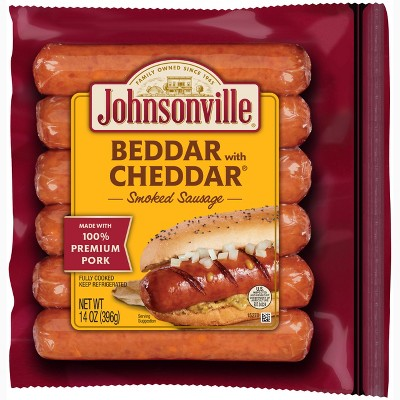 Johnsonville Beddar with Cheddar Smoked Sausage - 14oz