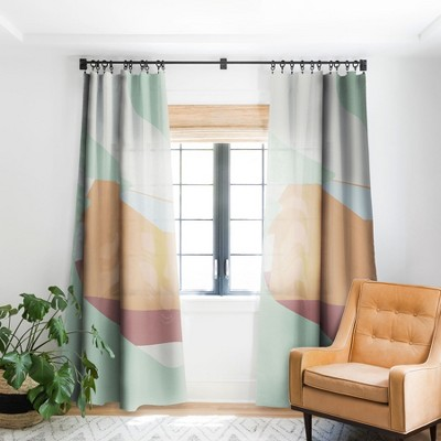 Mile High Studio Color And Shape Rustic Alabama Cabin Single Panel Blackout Window Curtain - Society6