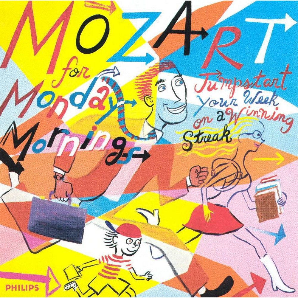 Set Your Life To Music Mozart For Monday Mornings Cd