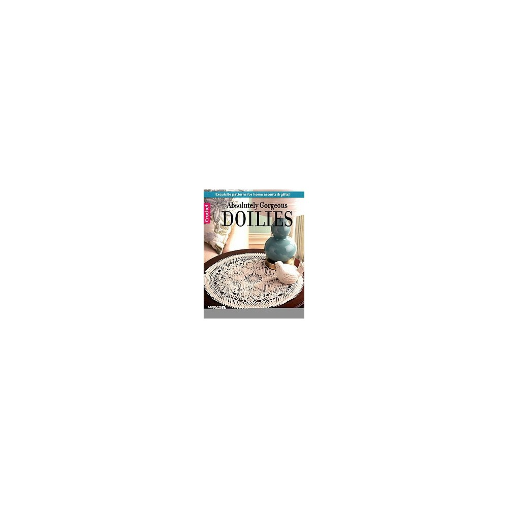 Absolutely Gorgeous Doilies (Paperback) (Patricia Kristoffersen)