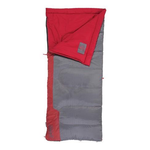 Coleman® Bannack 50 Degree Sleeping Bag - Red Gray   Target 80604b197