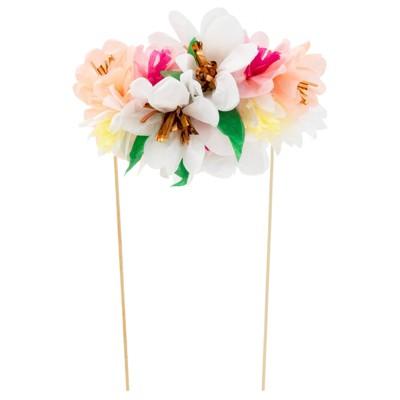 Meri Meri Flower Bouquet Cake Topper
