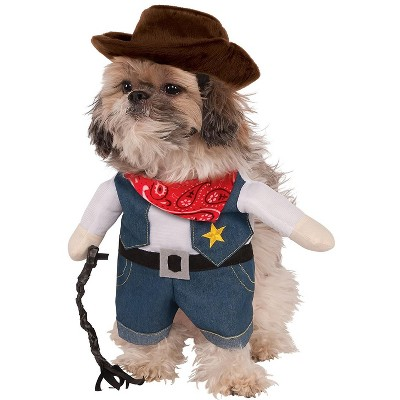Rubies Walking Cowboy Pet Costume